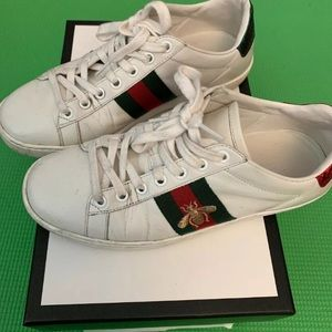 Gucci Ace Bee Sneakers - Women Size 36 With Box